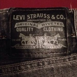 Men's Levi's 527 Low Boot Cut Jeans 36x32 - G